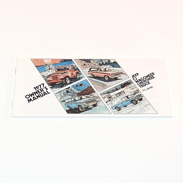 1977 CJ/Cherokee/Wagoneer/Truck Factory Owners Manual