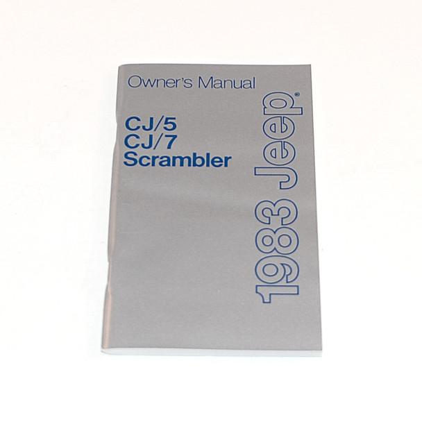1983 CJ Factory Owners Manual