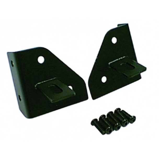 '76-'95 CJ/YJ Black Windshield Light Mounts
