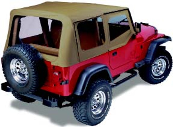 '87-'95 YJ Factory Replacement Top w/Upper Doors & Tinted Windows