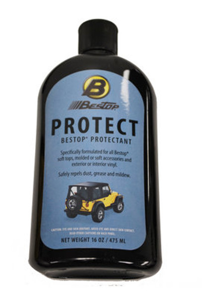 16oz bottle of Bestop Protectant Solution