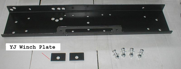 '87-'95 YJ Winch Mounting Plate