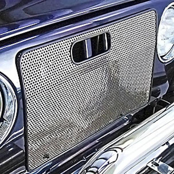 '97-'01 TJ Grill Screen (Aluminum)