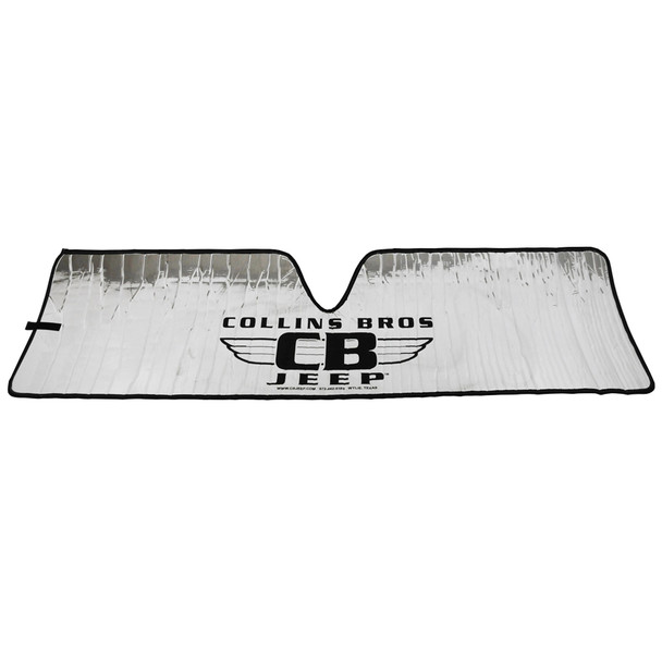 "'07-Current JK ""CollinsBros Jeep"" Logo Heat Shield"