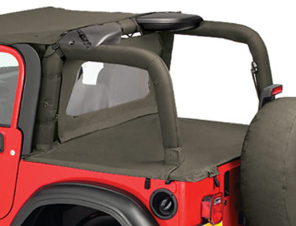 '03-'06 TJ Duster Deck Cover (factory hard top removed)