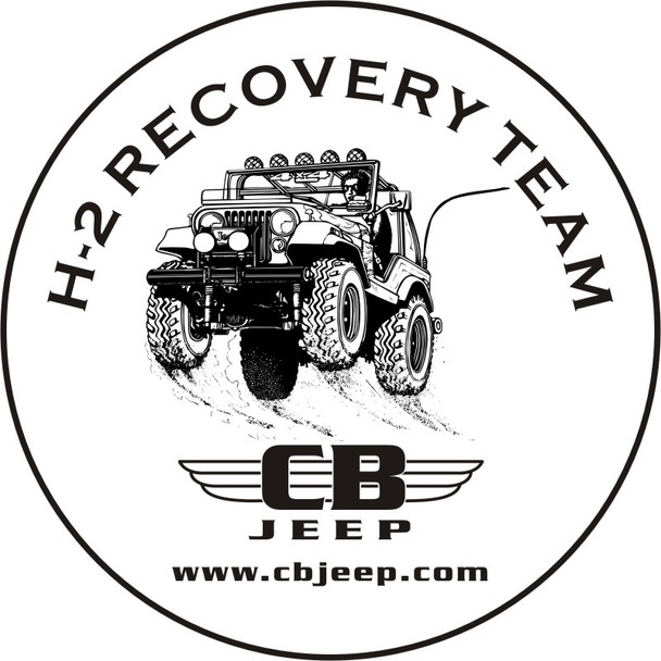 H2 Recovery Team Tire Cover