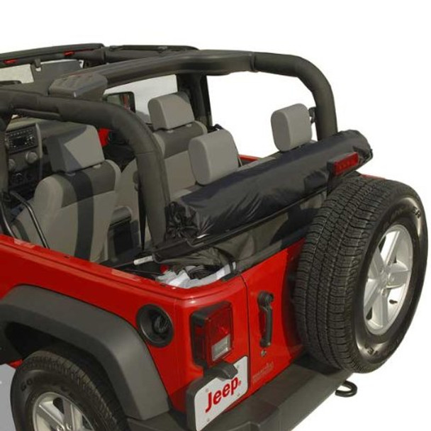 '07-Current JK 2dr Clover Patch Window Rollup Storage Kit
