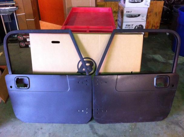 '81-'95 CJ/YJ NOS Door Shells (fixed vent window)