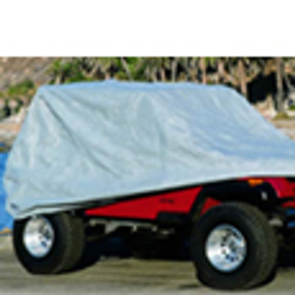 '76-'06 CJ/YJ/TJ Full Jeep Cover (Gray)