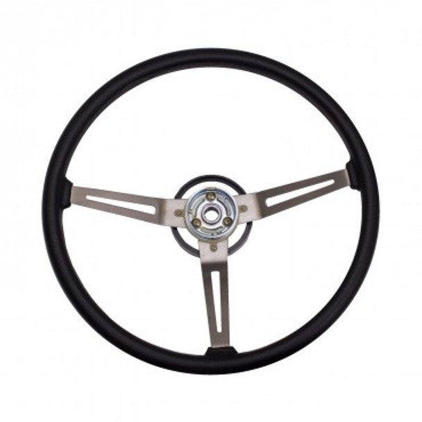 '76-'95 CJ/YJ Reproduction Base Model Steering Wheel (BLACK)