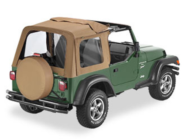 '97-'02 TJ Sunrider w/clear windows w/o doors
