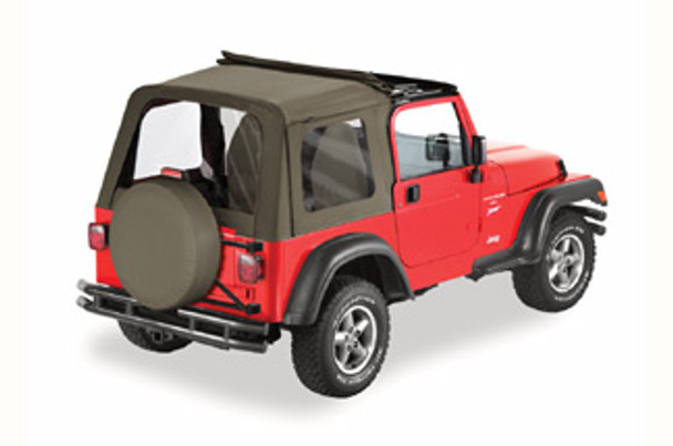 '03-'06 TJ Sunrider w/clear windows w/o doors