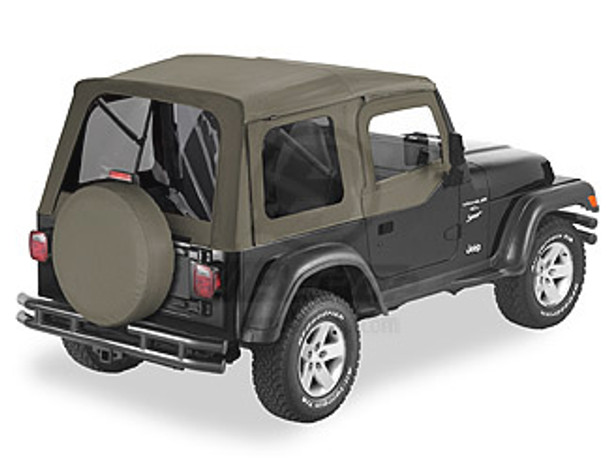 '03-'06 TJ Supertop w/Tinted Windows & Upper Doors (Khaki Diamond)