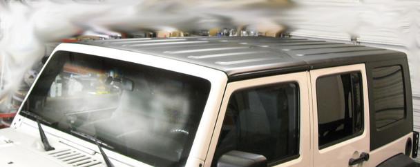 '07-Current JK Wrangler Unlimited Hardtop - Black