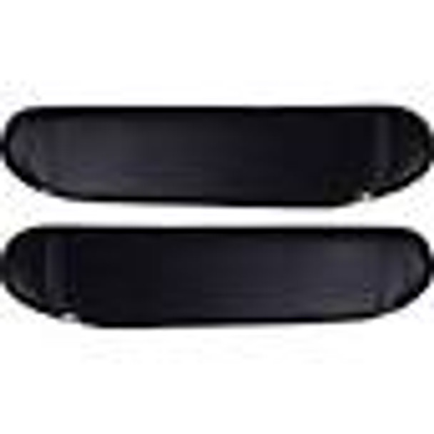 '87-'95 YJ Black Sun Visors (Pair)