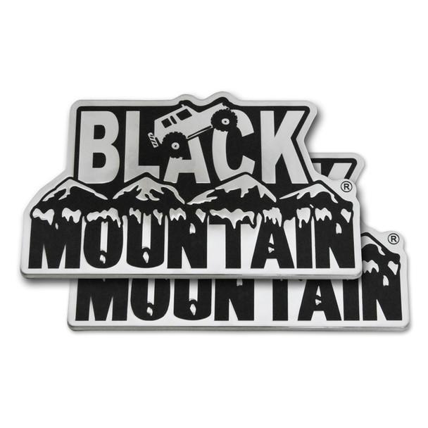 Black Mountain Emblem (pair)