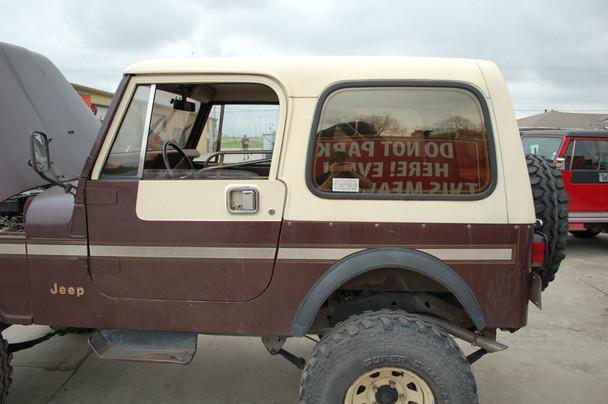 Used Factory CJ7 hardtop