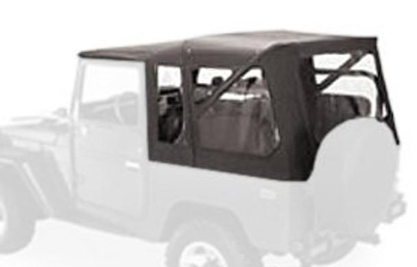 '64-'84 Toyota FJ-40 Land Cruiser Supertop w/o doors (Black Denim)