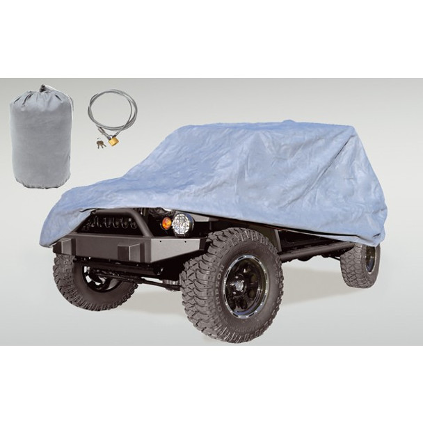 '04-Current LJ/JKU 3-Layer Full Car Cover Kit
