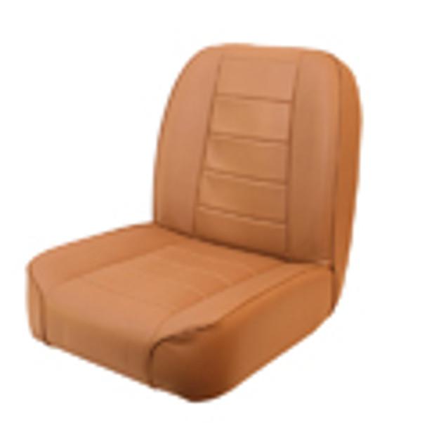 '55-'86 CJ Low Back Front Bucket Seat (Tan)