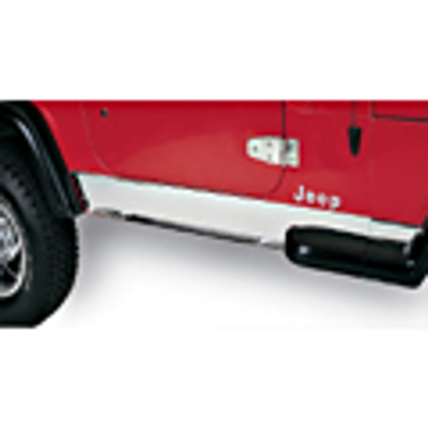 '87-'95 YJ Stainless Rocker Panel Cover