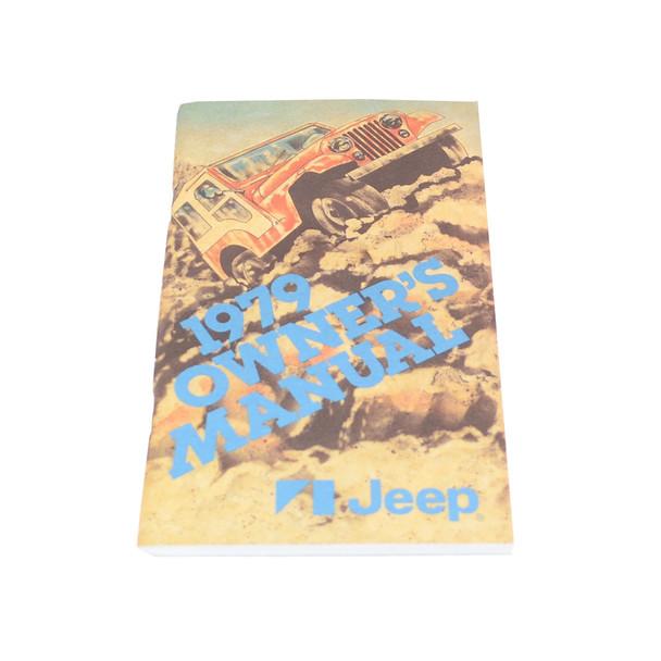 1979 CJ Owners Manual