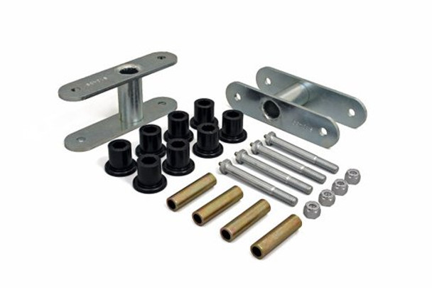 "'76-'86 CJ 1/2"" Lift Front Greasable Super Shackle Kit"