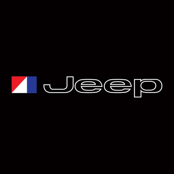 AMC Jeep Logo Windshield Decal