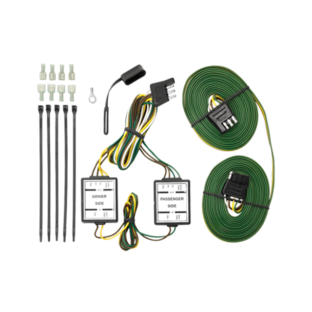 Tow Bar Wiring Harness w/Taillight Isolating Diode System