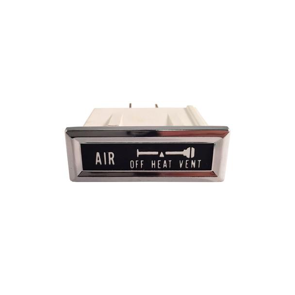 '76-'86 CJ Air Vent Dash Indicator Light