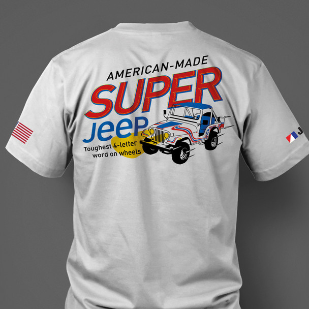 Super Jeep Americana T-Shirt