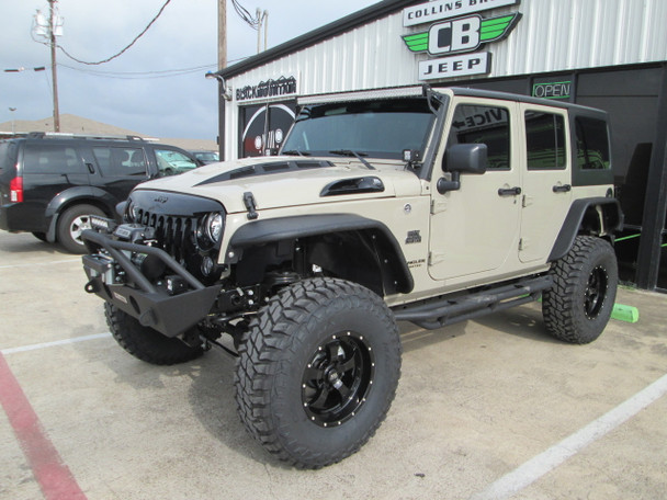 SOLD 2017 Black Mountain Conversions Unlimited Jeep Wrangler Stock# 672909