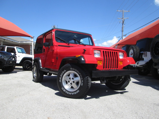 Sold 1992 Jeep Yj Wrangler Stock 543446 Collins Bros Jeep