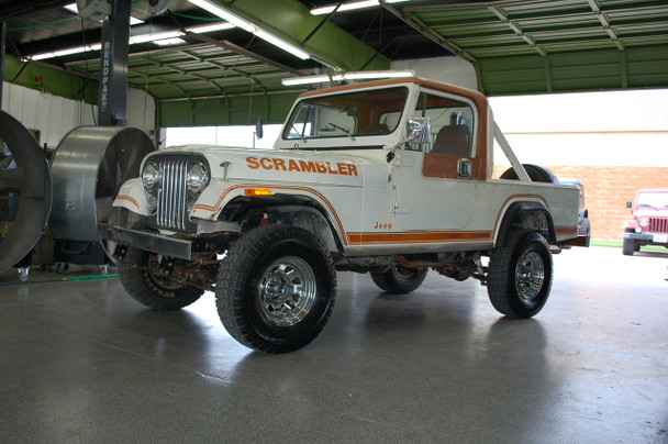 SOLD 1982 CJ-8 Laredo Scrambler SLR Stock# 023836