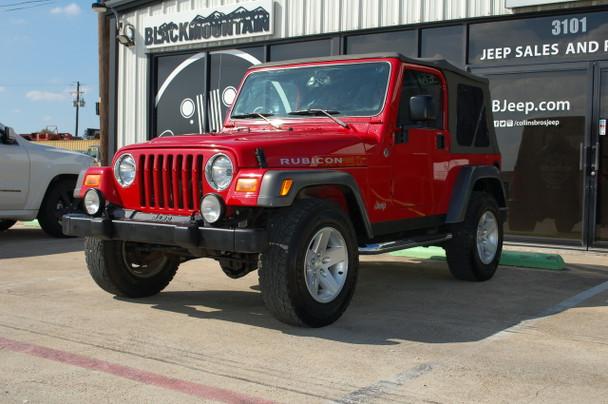 2005 Jeep TJ Red Rubicon Stock# 311577