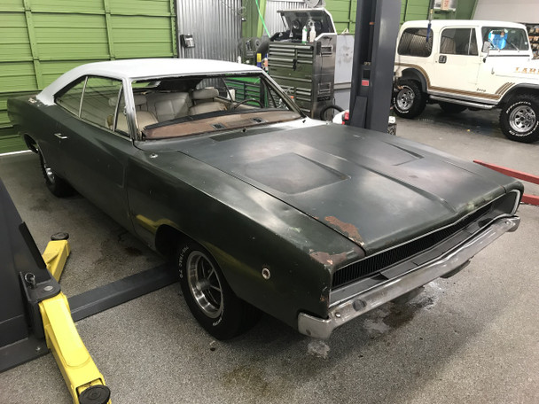 SOLD 1968 Dodge Charger project Stock# 242991