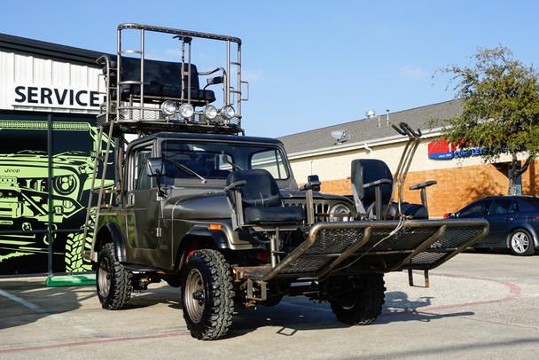 SOLD 1983 Jeep CJ-7 Custom Hunting Rig Conversion Stock# 046330
