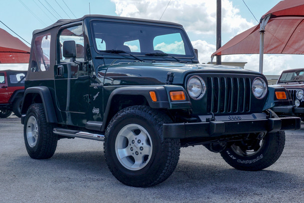 SOLD 2000 Jeep TJ Wrangler Sport Edition Stock# 788402
