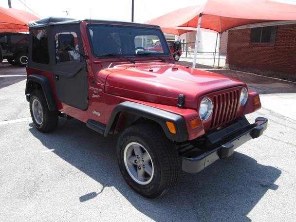 SOLD 1999 Jeep TJ Wrangler Sport Edition Stock# 422279
