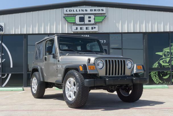 2003 Jeep TJ Wrangler X Edition Stock# 375772