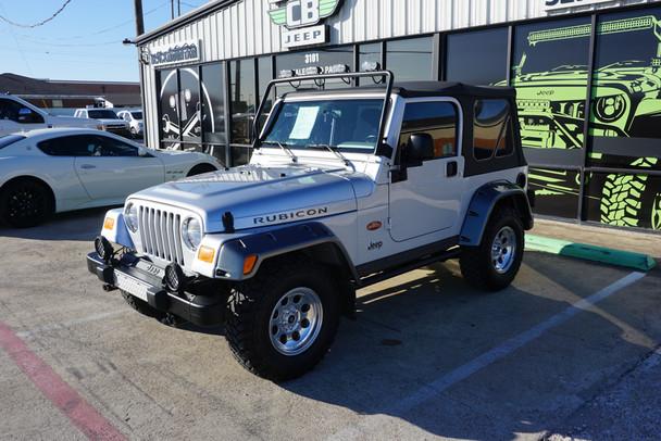 2003 Jeep TJ Wrangler Rubicon Tomb Raider Edition Stock# 376338