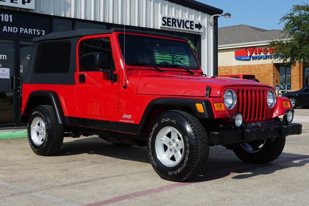 SOLD SALE PENDING 2004 Jeep Wrangler LJ Unlimited #791450