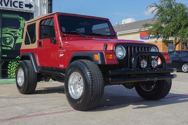 SOLD 1998 Jeep Wrangler Sport Chilipepper Stock# 784818