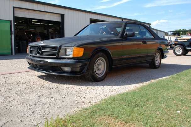 1984 Mercedes 500 SEC Lorinser Edition Stock# 094011