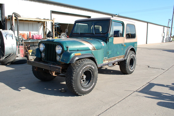 1980 CJ-7 Golden Hawk Stock# 721389