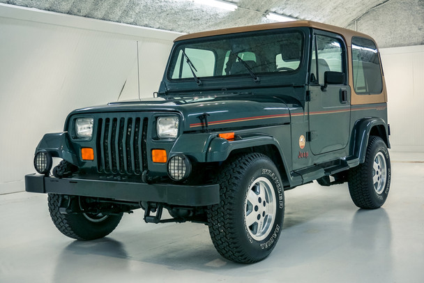 1993 Green Yj Carrol Shelby Jeep Stock 100002 Cbjeep