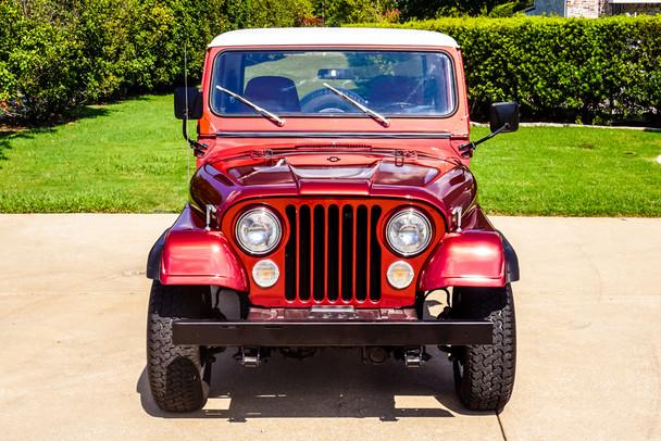 SOLD SALE PENDING 1984 Jeep CJ-8 Scrambler Stock# 002470
