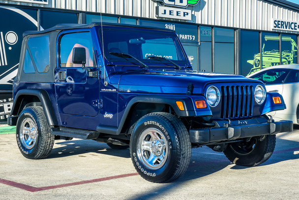 2002 Jeep TJ Wrangler Apex Edition Stock# 765836