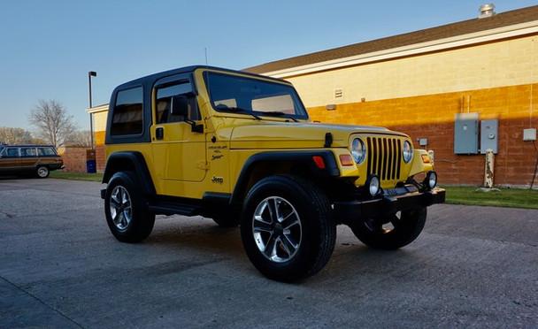 2002 Jeep TJ Wrangler Sport Stock# 722430