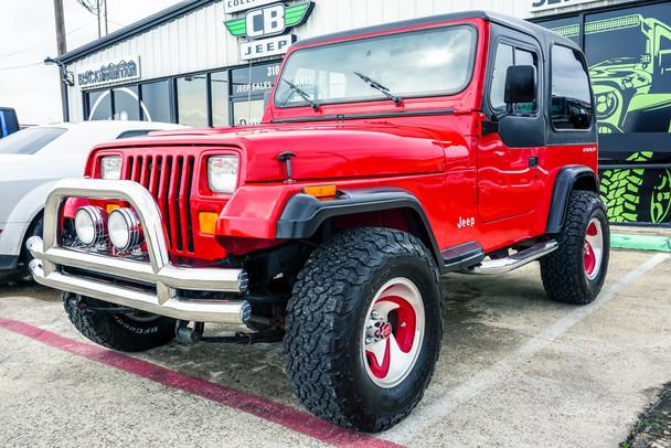 1995 Jeep Wrangler YJ 1-owner Stock# 237826